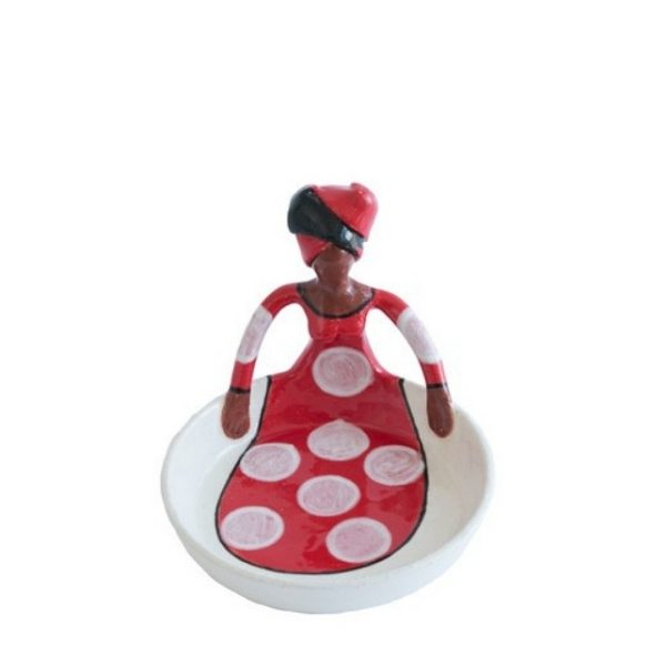 Sweetie Dish Women of Africa Xhose (red)